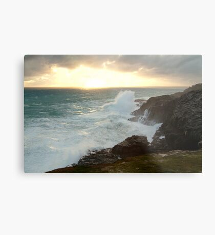 Power and Glory, Cape Bridgewater Metal Print