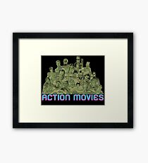 Action Movies Framed Print
