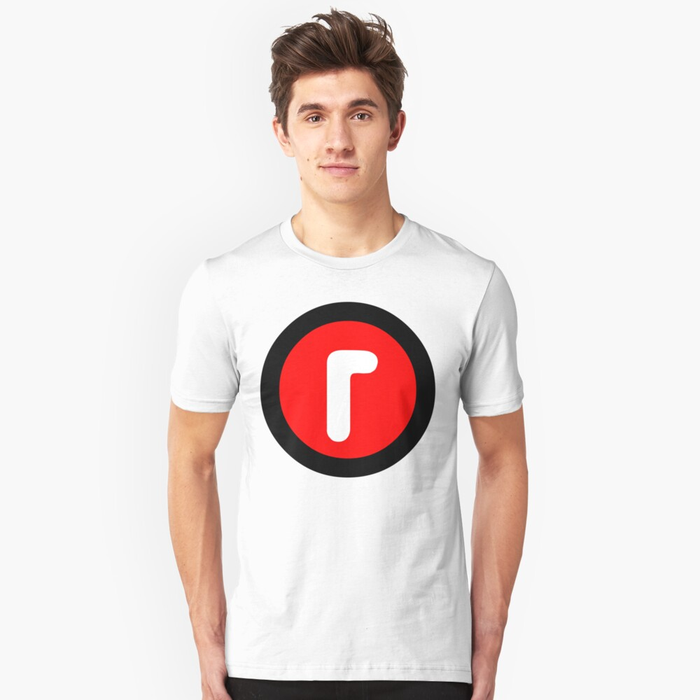 R rated Unisex T-Shirt Front