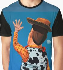 Woody of Toy Story Painting Graphic T-Shirt