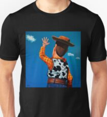 Woody of Toy Story Painting T-Shirt