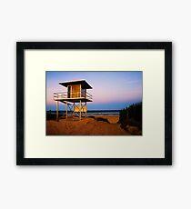 Lifeguard Framed Print