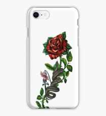 The wall, the snake, the rose  iPhone Case/Skin