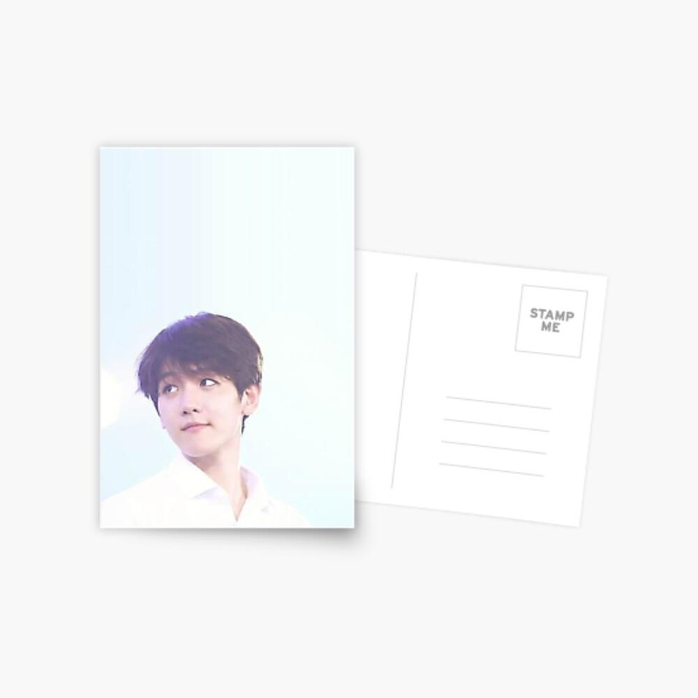 Baekhyun - EXO Postkarte