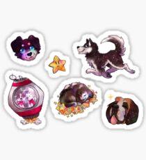 Space Woofers Sticker