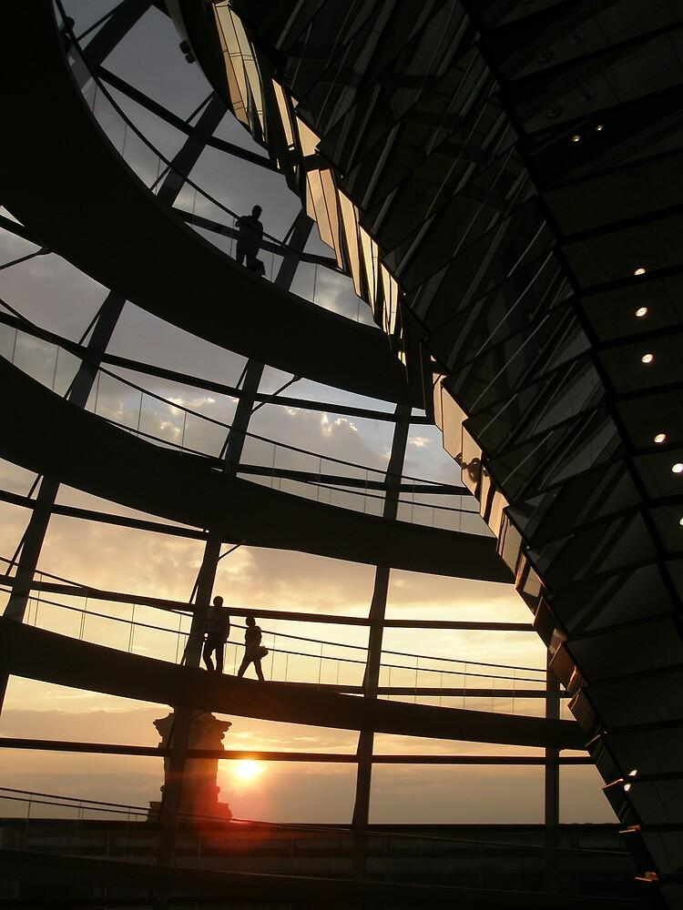 Reichstag Sunset by David Mack