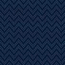 Blue Chevron Dot by nuuk