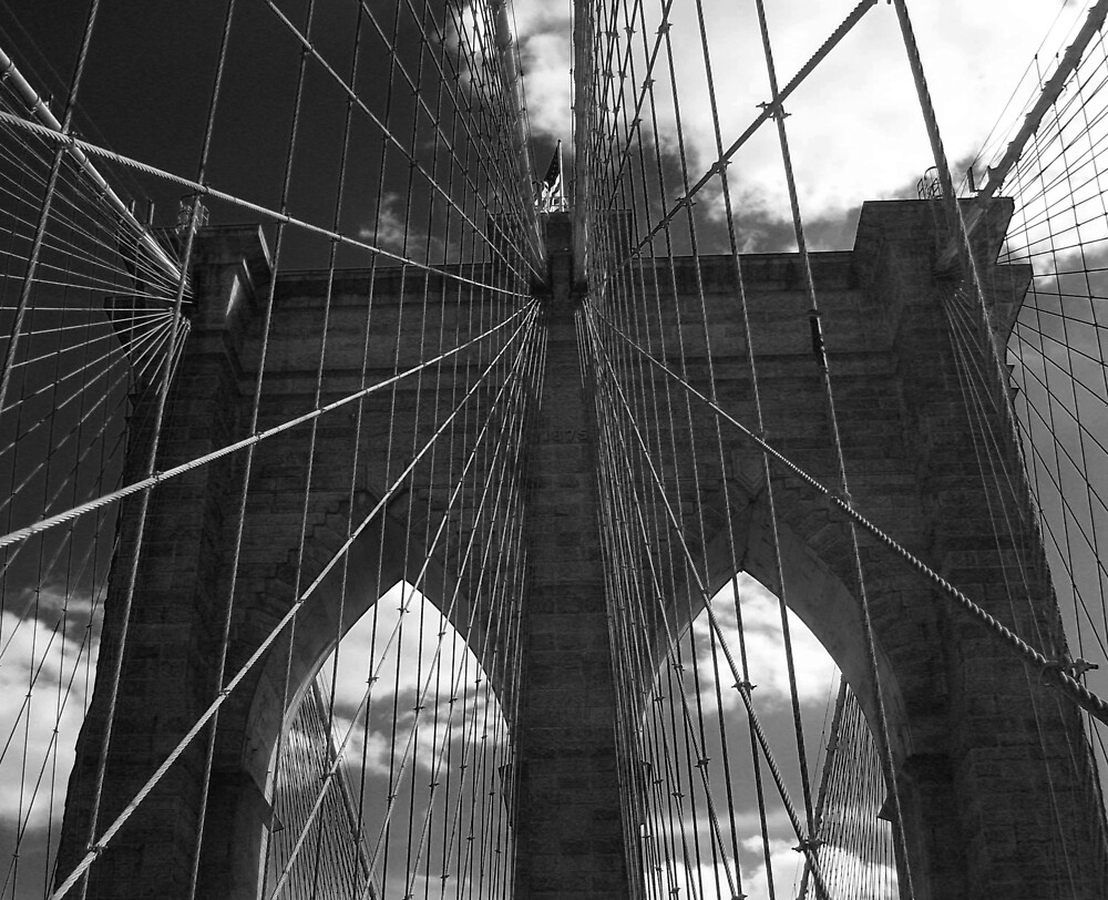 Brooklyn Bridge by David Mack