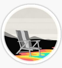Day at the Beach Sticker