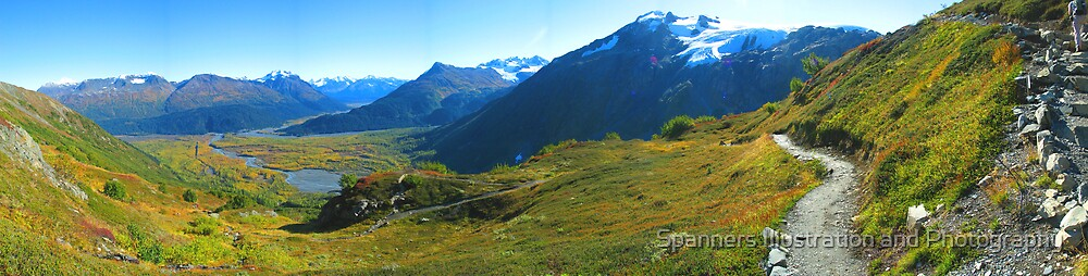 Exit Glacier, Alaska by spanners79