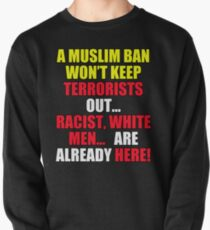 Protest Sign Pullover