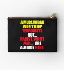 Protest Sign Studio Pouch