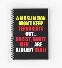 Protest Sign Spiral Notebook