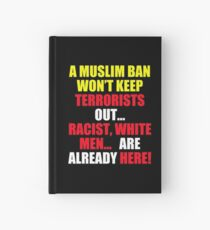 Protest Sign Hardcover Journal