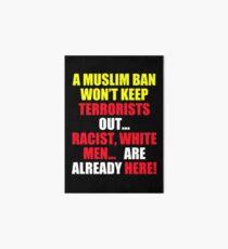 Protest Sign Art Board