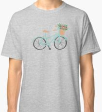 Baby Blue Bicycle Classic T-Shirt