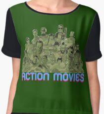 Action Movies Women's Chiffon Top