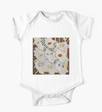 Pop art, modern,contemporary,surreal,trendy,hand painted,drawn Kids Clothes