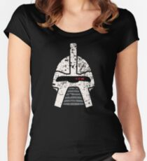 Cylon Erosion Women's Fitted Scoop T-Shirt