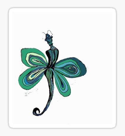 Green Fairy Sticker