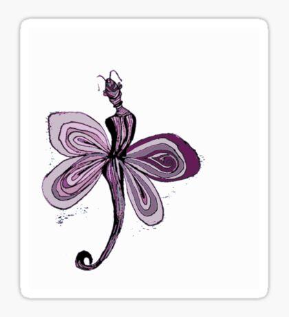 Pink Fairy Sticker