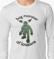 Bog Monster Of Louisiana Long Sleeve T-Shirt