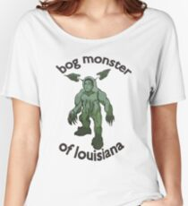 Bog Monster Of Louisiana Women's Relaxed Fit T-Shirt