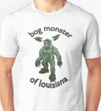 Bog Monster Of Louisiana Unisex T-Shirt
