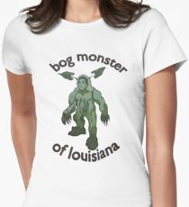 Bog Monster Of Louisiana Women's Fitted T-Shirt