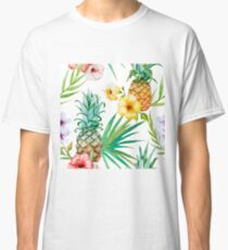 Tropical Fruit - Pinapple Classic T-Shirt