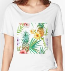 Tropical Fruit - Pinapple Women's Relaxed Fit T-Shirt