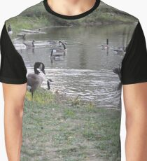 Geese Graphic T-Shirt