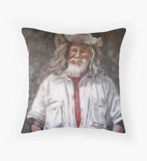 Campbell the Swagman II Throw Pillow