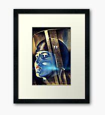 Vintage Iconic Metropolis Movie Framed Print