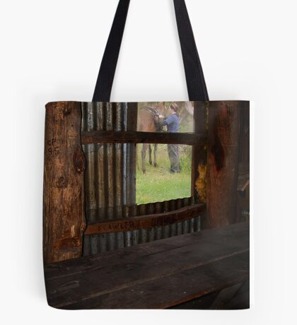 High Country Rider Tote Bag
