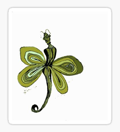 Yellow Fairy Sticker