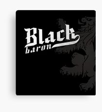 Black Baron - Coat of Arms Canvas Print