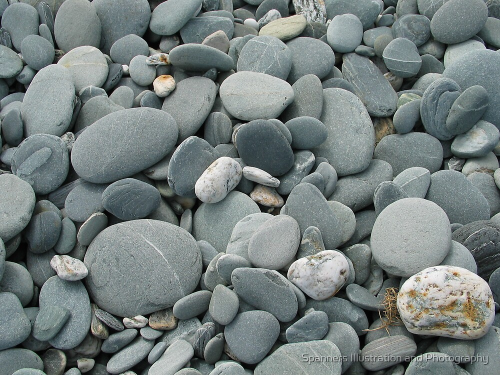 Stones by Spanners Illustration and Photography