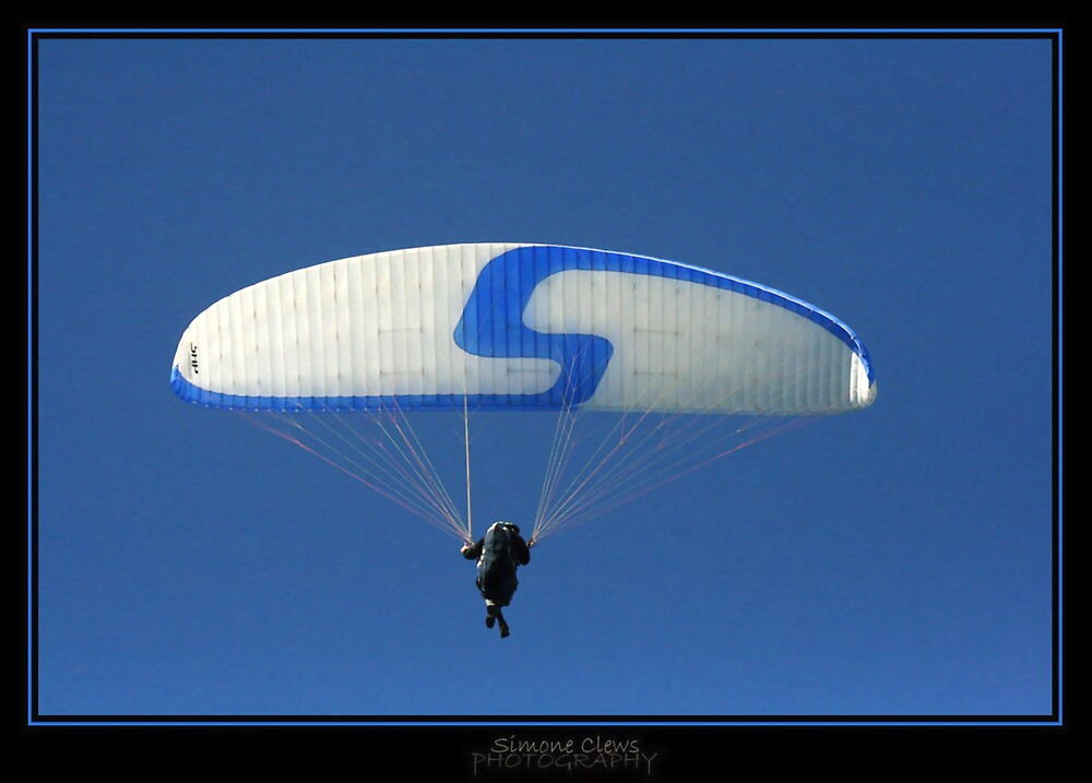 Paraglider by Simone C