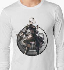 Nier: Automata 2B Emil Long Sleeve T-Shirt