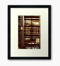 The ordinary container - it's always the sun Framed Print