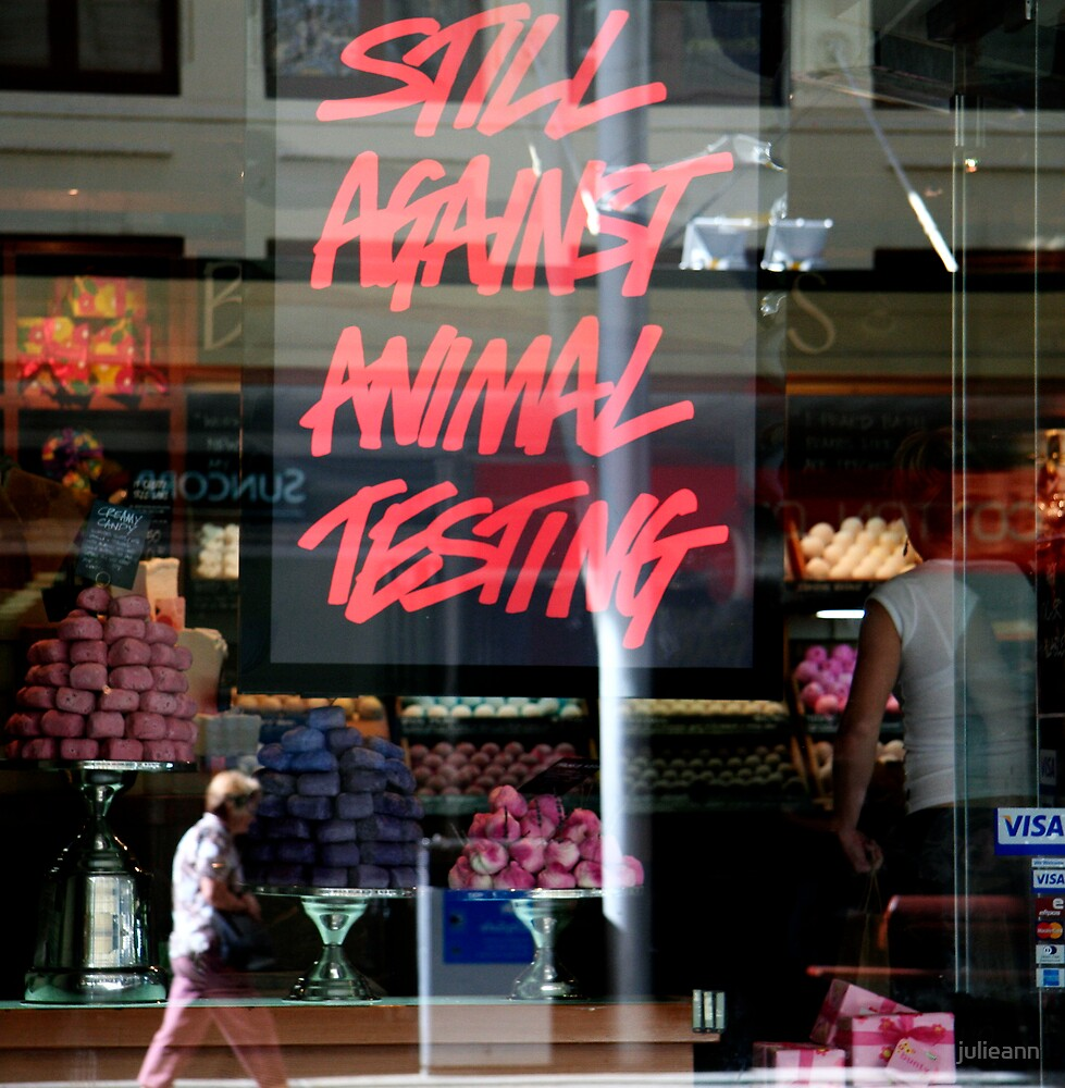 Still Against Animal Testing by julieann