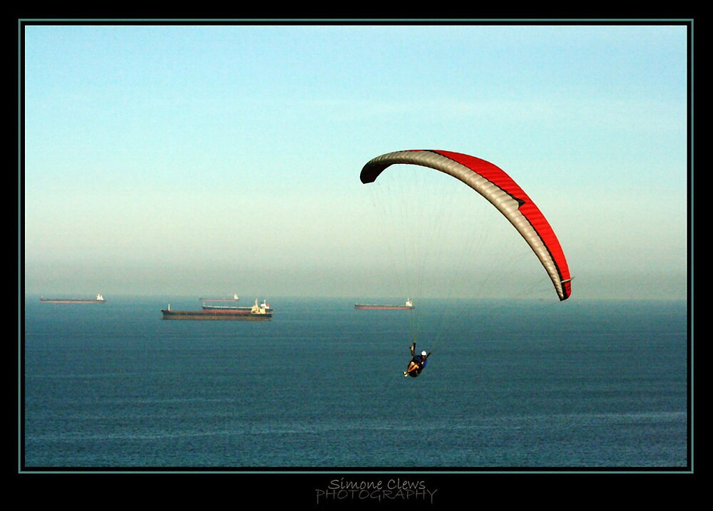 Paraglider 2 by Simone C