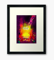 What The... Framed Print