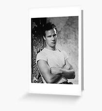 Marlon Brando in Streetcar Named Desire Greeting Card