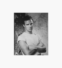 Marlon Brando in Streetcar Named Desire Art Board