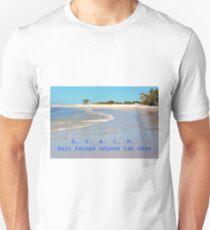 B E A C H Best Escape Anyone Can Have T-Shirt