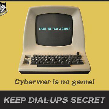 Keep dial-ups secret by geek-art-uk