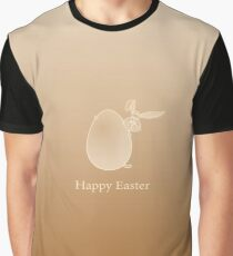Easter Rabbit and Egg Graphic T-Shirt