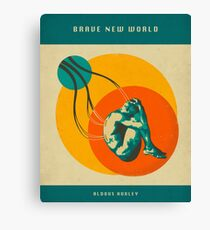 BRAVE NEW WORLD Canvas Print